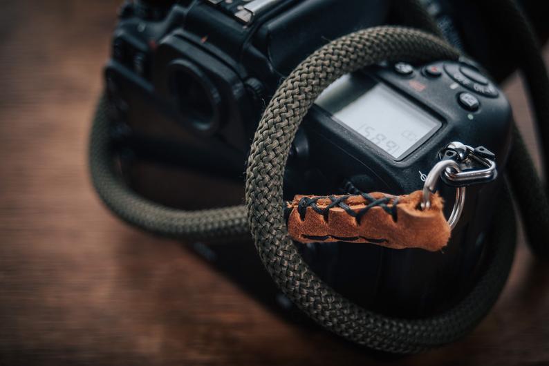 Monochrome Rope Camera strap 1