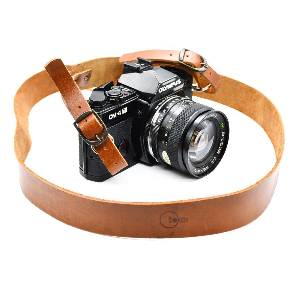 Leather Camera Strap 3cm 1
