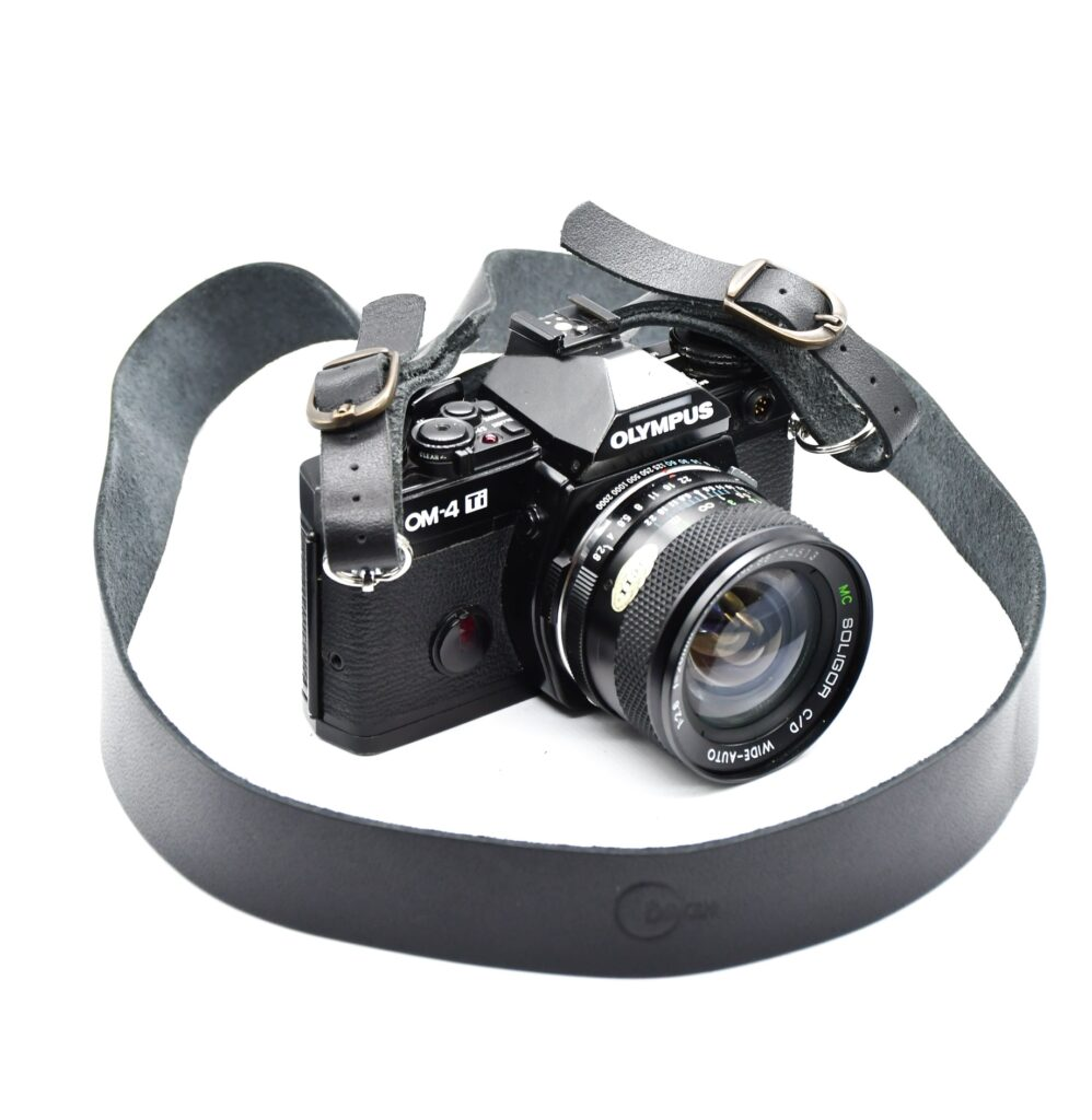 Leather Camera Strap 3cm 2