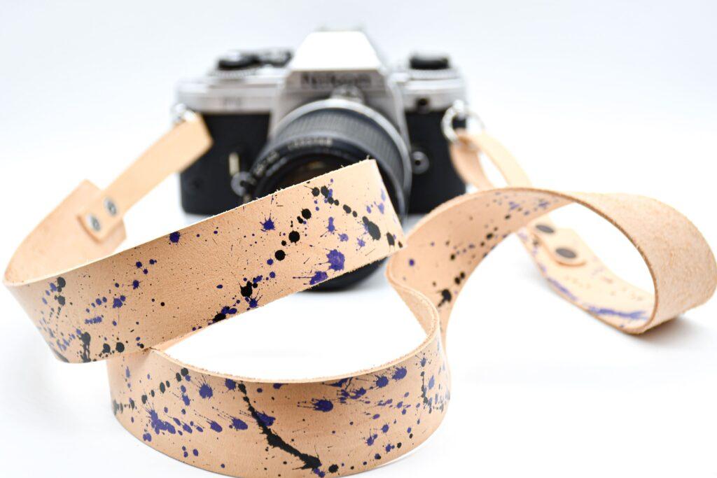 Splash Leather Camera Strap for DSLR 10
