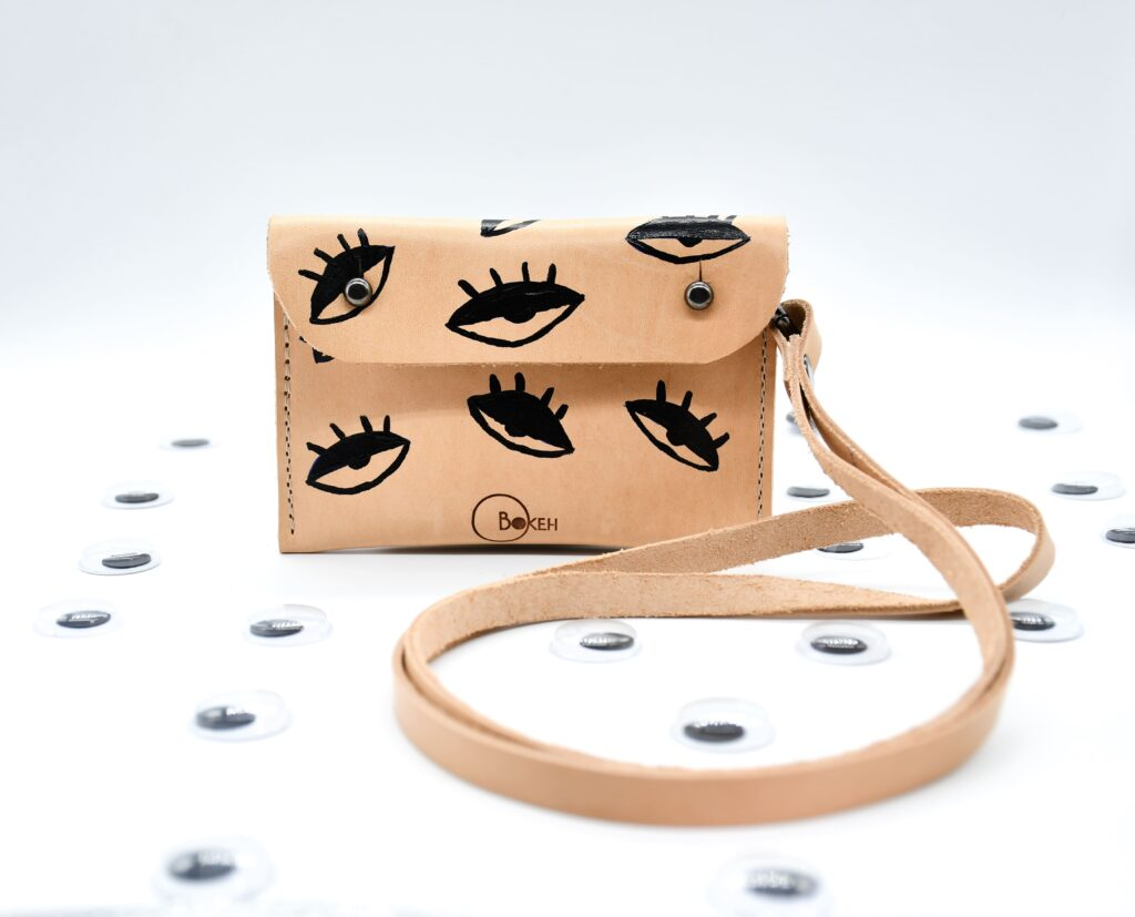 Black-evil eye Neck wallet 8