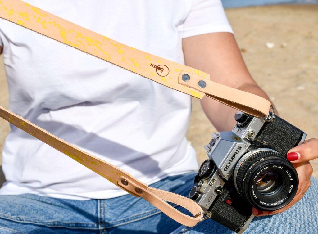 Splash Leather Camera Strap for DSLR 4