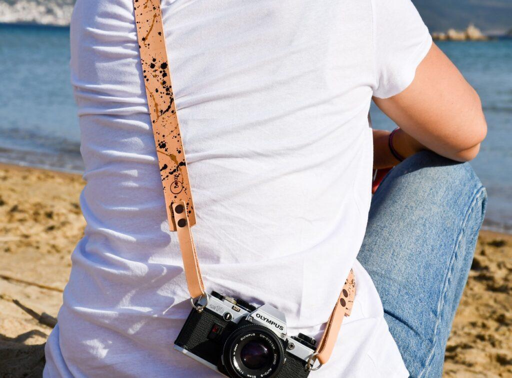 Splash Leather Camera Strap for DSLR 9
