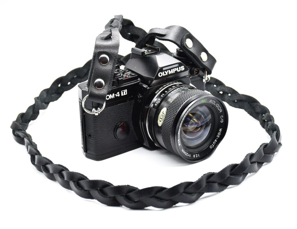 Full Braided Leather Camera Strap for dslr 3