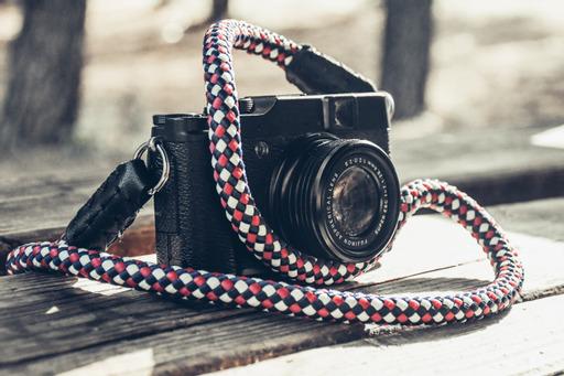 Harlequin Rope Camera strap 1
