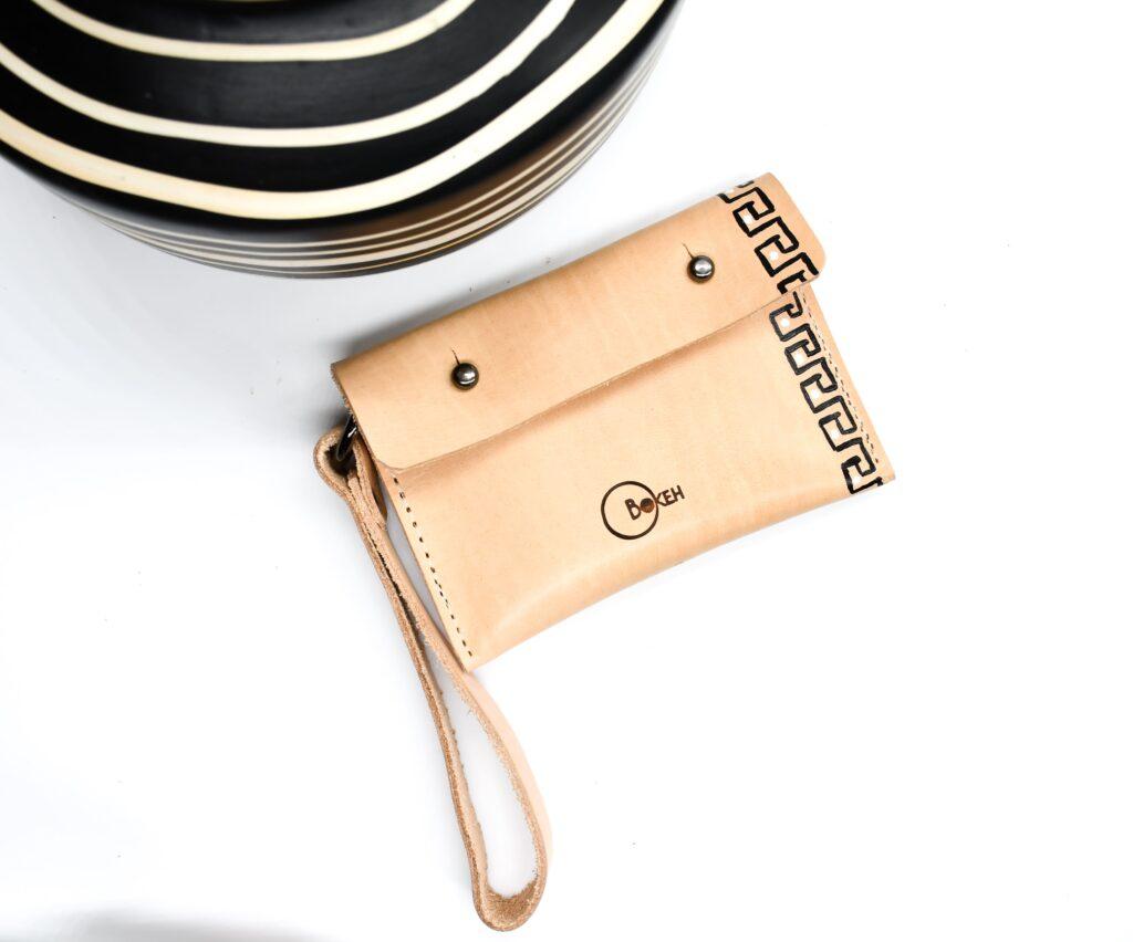 Meander coin purse 1