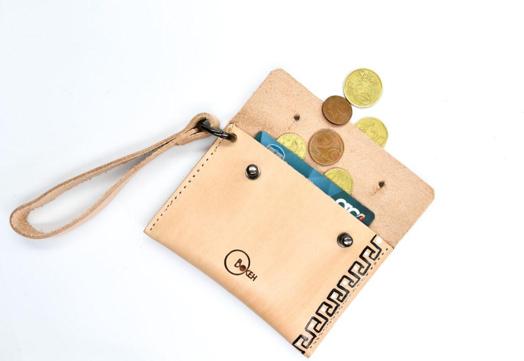 Meander coin purse 2