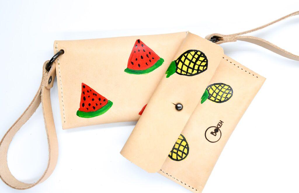 Pineapple coin purse 4