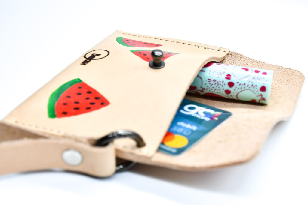 Watermelon coin purse 3