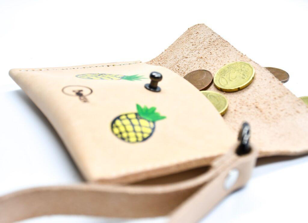 Pineapple coin purse 3