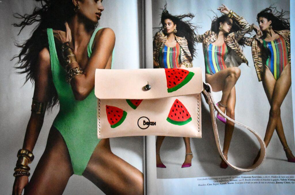 Watermelon coin purse