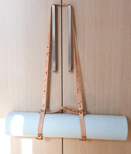 Leather Yoga Mat strap 3