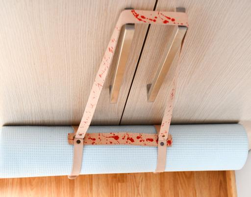 Leather Yoga Mat strap 6
