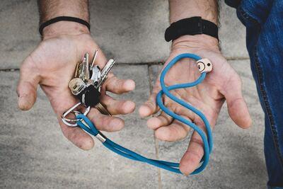 Two-tone_Long_key_chain